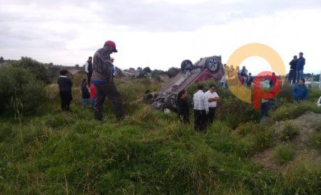 MUERE PAREJA DE LA TERCERA EDAD TRAS ACCIDENTE EN ZINACANTEPEC