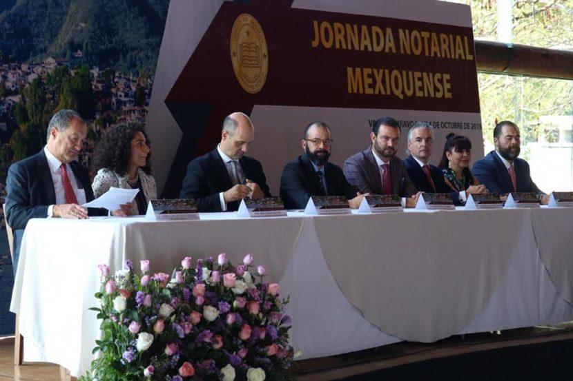 COLABORAN NOTARIOS PARA GARANTIZAR JUSTICIA A LAS FAMILIAS MEXIQUENSES