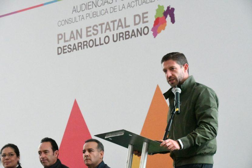 LLEVA A CABO A SEDUYM PRIMERA CONSULTA PÚBLICA DEL PLAN ESTATAL DE DESARROLLO URBANO