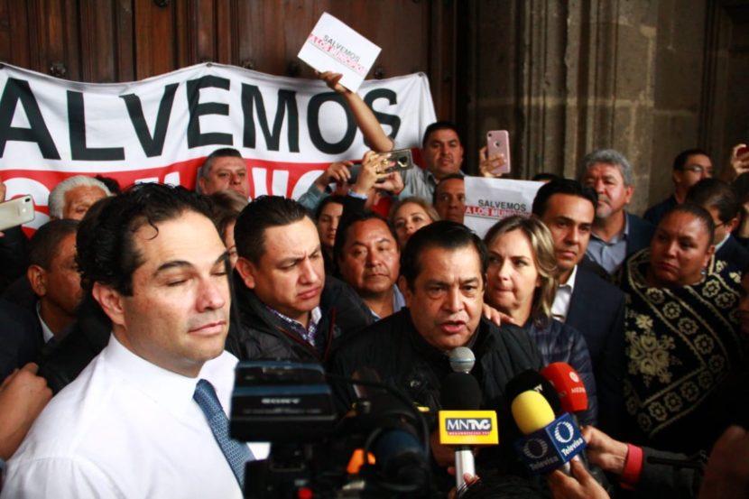 ALCALDES EXIGEN JUSTICIA PRESUPUESTAL A AMLO