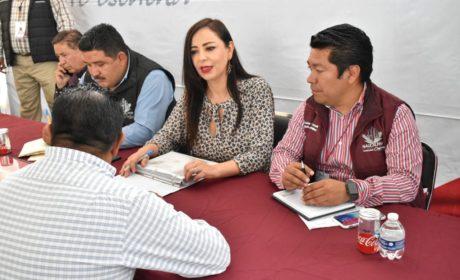 ATIENDE PATY DURÁN SOLICITUDES DE CIUDADANOS EN SAN AGUSTÍN