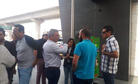 LLEGA PROFECO A GASOLINERA QUE DESPACHÓ COMBUSTIBLE REBAJADO EN LA MÉXICO-TOLUCA