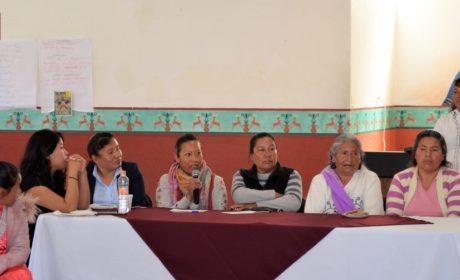 ESCUCHA CEMyBS A MUJERES DE COMUNIDADES INDÍGENAS