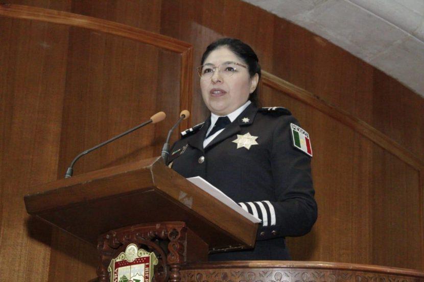COMPARECE MARIBEL CERVANTES ANTE EL PLENO DE LA LX LEGISLATURA MEXIQUENSE
