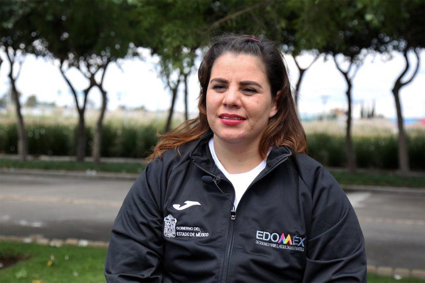 MIRIAM ISELA AGUILAR HALTERISTA MEXIQUENSE PREPARA SU CLASIFICACIÓN A TOKIO 2020