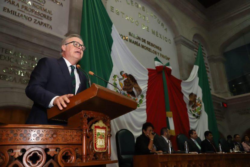 TRABAJAR PARA EL BIENESTAR FAMILIAR DE LOS MEXIQUENSES, OBJETIVO PRIMORDIAL DEL EDOMÉX