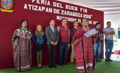 """ARRANCA """"BUEN FIN"""" EN ATIZAPÁN CON NACIMIENTO DE LA MUÑEQUITA TRIQUI"""