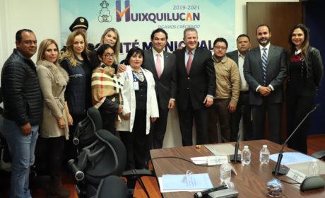CONFORMAN EN HUIXQUILUCAN COMITÉ MUNICIPAL CONTRA LAS ADICCIONES