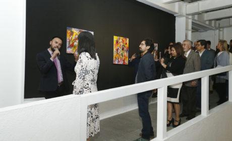 EXHIBEN «ESTUDIO SOBRE LA FIESTA» EN MUSEO UNIVERSITARIO LEOPOLDO FLORES
