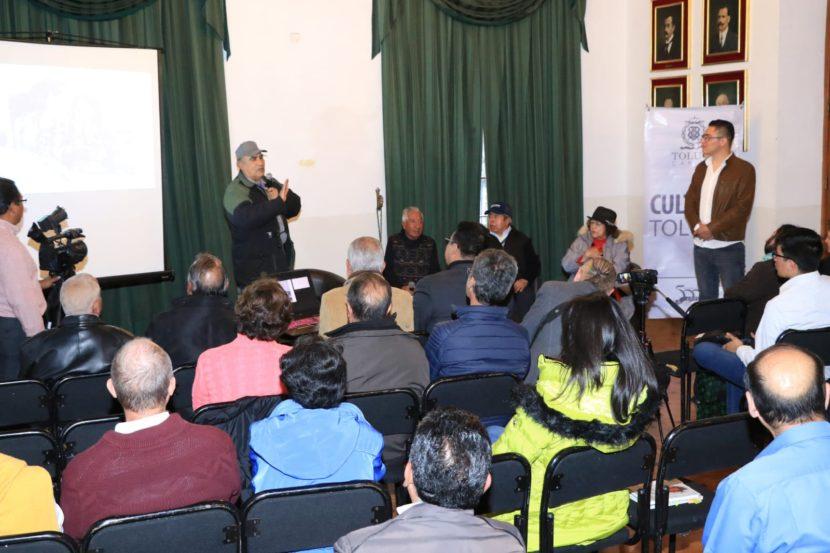FERROCARRILEROS CUENTAN SUS VIVENCIAS EN TERTULIA TOLUQUEÑAS «EL RIELERO, UN OFICIO OLVIDADO»