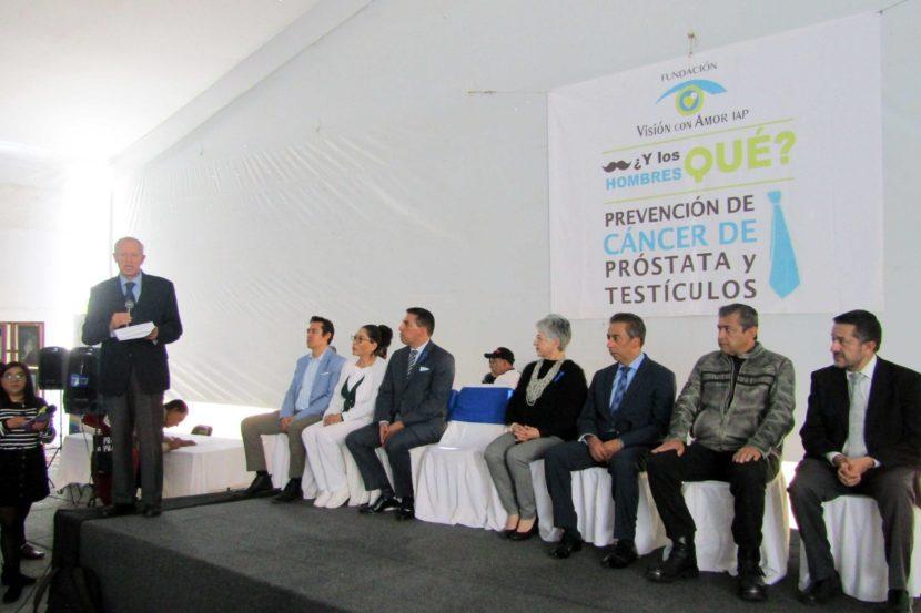 REALIZA ASISTENCIA PRIVADA ANÁLISIS GRATUITOS PARA PREVENCIÓN DE CÁNCER DE PRÓSTATA