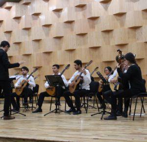INICIA ORQUESTA DE GUITARRAS ASAB SU GIRA EN MÉXICO EN EL CONSERVATORIO DE MÚSICA MEXIQUENSE