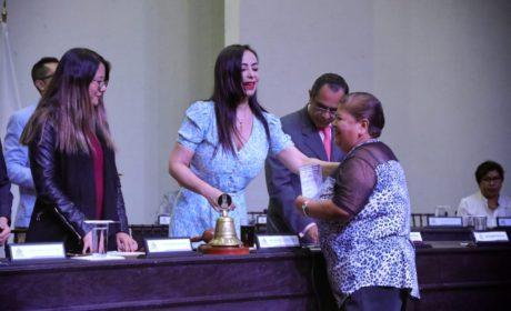 RINDEN PROTESTA AUTORIDADES AUXILIARES DE NAUCALPAN TRAS REPOSICIÓN DE COMICIOS