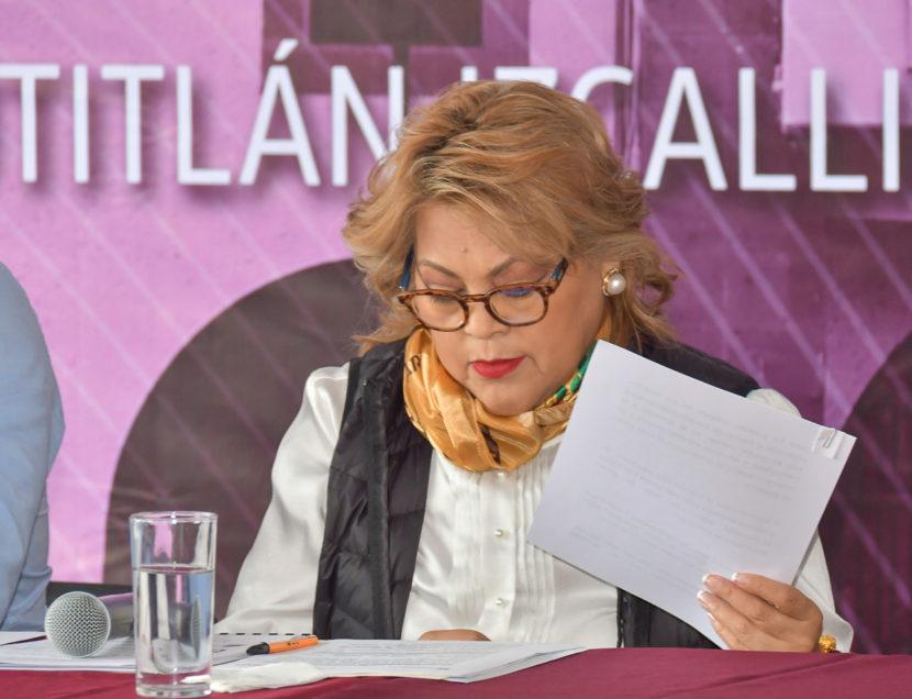 GARANTIZA RUTH OLVERA A TRABAJADORES PAGO DE AGUINALDOS EN TIEMPO Y FORMA