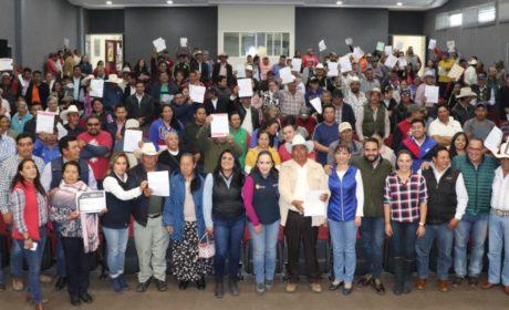 INICIA SEDAGRO ENTREGA DE INCENTIVOS DEL PROGRAMA DE CONCURRENCIA CON LAS ENTIDADES FEDERATIVAS 2019