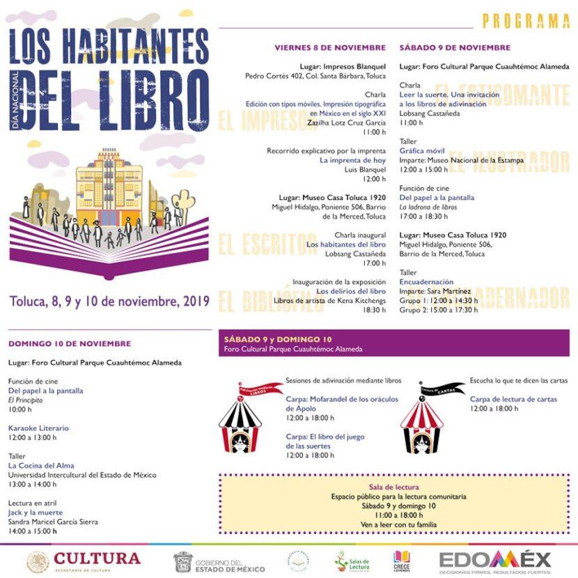 CELEBRAN DÍA NACIONAL DEL LIBRO CON JORNADA DE ACTIVIDADES LITERARIAS