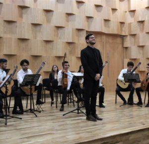 LA ORQUESTA DE GUITARRAS ASAB INICIA GIRA EN EL CONSERVATORIO DE MÚSICA DE EDOMÉX