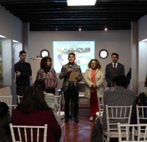 CAPACITAN A SERVIDORES PÚBLICOS PARA INCORPORAR A NIÑOS Y ADOLESCENTES AL ARTE