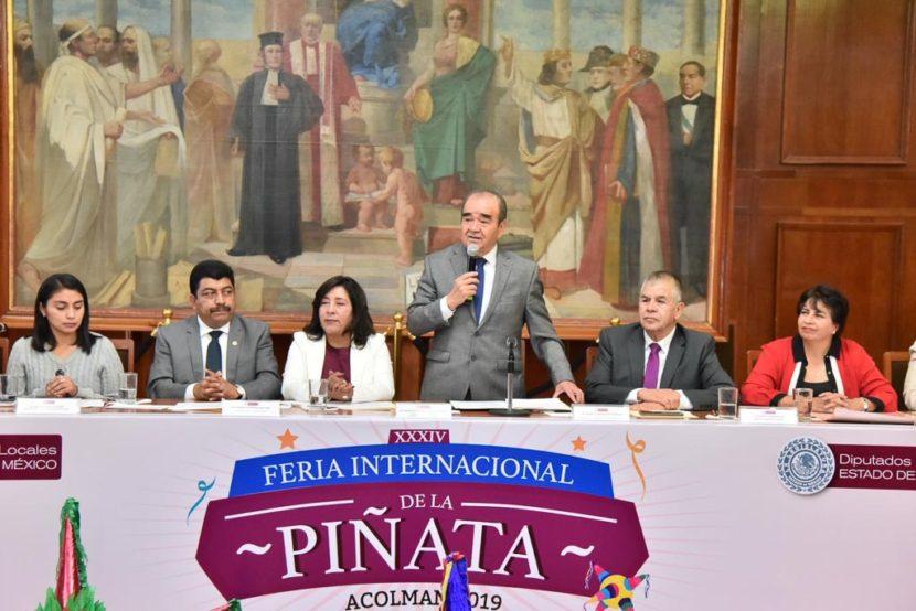 INVITAN A LA FERIA INTERNACIONAL DE LA PIÑATA ACOLMAN 2020