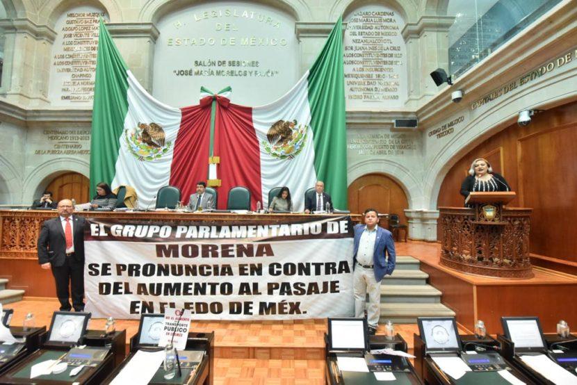 EXHORTA LA LEGISLATURA A NO AUTORIZAR ALZA EN TARIFA DE TRANSPORTE