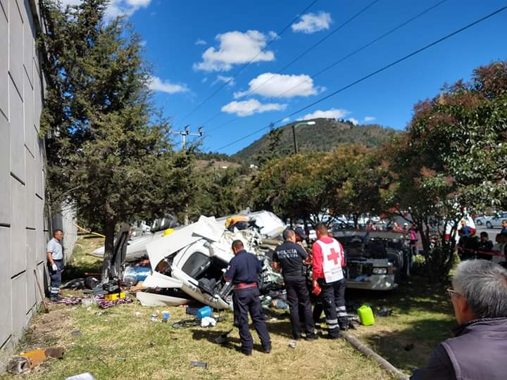 MUERE TRAS ACCIDENTE EN LA ATLACOMULCO-TOLUCA