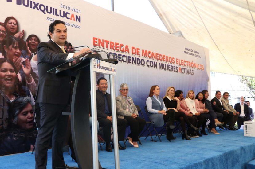 """ÚLTIMA ENTREGA DEL AÑO DEL PROGRAMA """"CRECIENDO CON MUJERES ACTIVAS"""" DE HUIXQUILUCAN"""