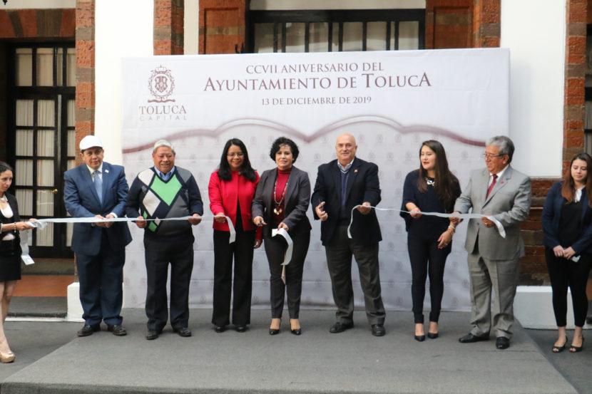 CONMEMORAN EL 207 ANIVERSARIO DEL AYUNTAMIENTO DE TOLUCA