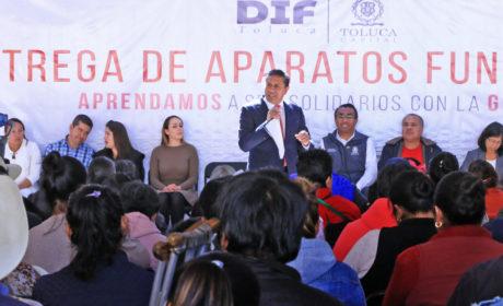 JUAN RODOLFO BUSCA TRANSFORMAR A TOLUCA EN UN LUGAR AMIGABLE PARA PERSONAS CON DISCAPACIDAD