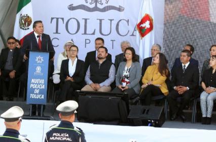 3,300 NUEVOS CADETES SE INCORPORAN AL COLEGIO DE POLICÍA DE TOLUCA