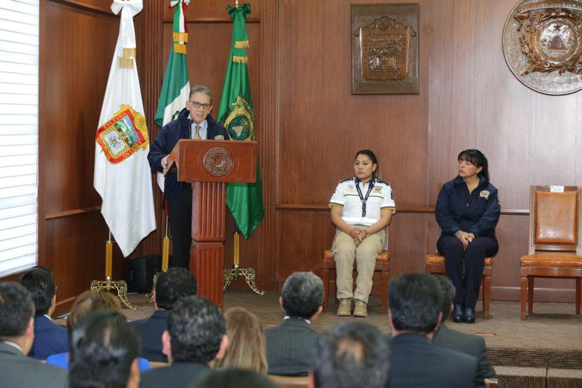 ALFREDO BARRERA RECONOCIÓ TRABAJO DE LA DIRECCIÓN DE SEGURIDAD Y PROTECCIÓN UNIVERSITARIA