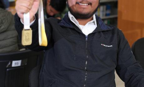 ESTUDIANTE DE LA UAEM GANÓ OLIMPIADA NACIONAL DE BIOLOGÍA