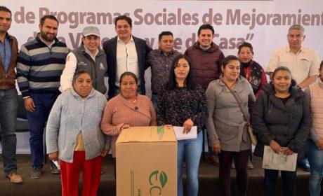 MEJORA LA CALIDAD DE VIDA DE 1,650 HOGARES TOLUQUEÑOS
