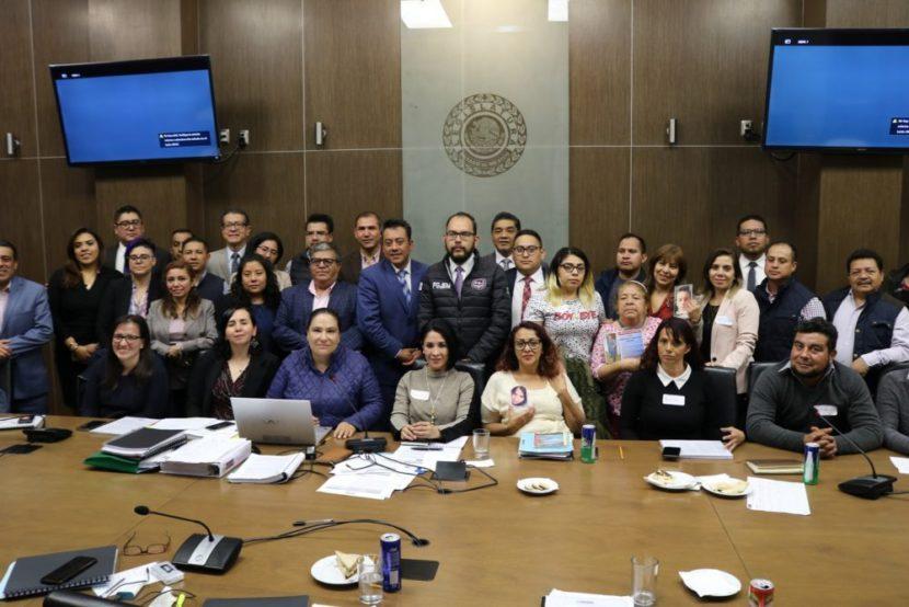 PARTICIPA EJECUTIVO EN LA ELABORACIÓN DE LA LEY DE DESAPARICIÓN