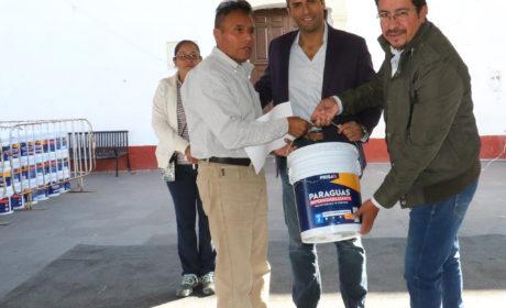 RECIBEN FAMILIAS DE TOLUCA APOYOS DEL PROGRAMA «IMPERMEABILIZA TU CASA»