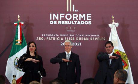EN NAUCALPAN, SOMOS UN GOBIERNO EMINENTEMENTE CIUDADANO: PATRICIA DURÁN