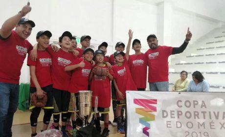 ATIZAPENSES GANAN DOS PRIMEROS LUGARES DE COPA BASQUETBOL EDOMÉX 2019
