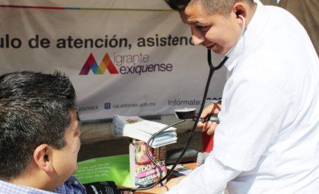 BRINDA ISEM 26 MIL SERVICIOS MÉDICOS A MIGRANTES MEXIQUENSES CADA AÑO