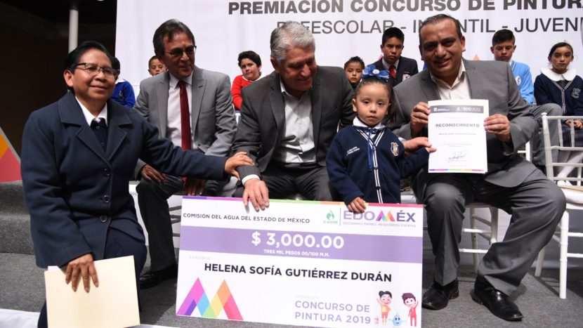 PREMIA CAEM A GANADORES DEL CONCURSO ESTATAL DE PINTURA 2019