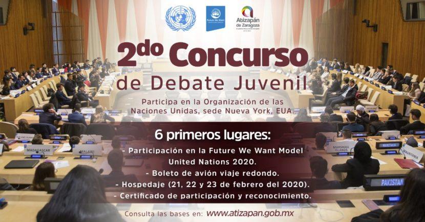 GANADORES DEL CONCURSO DE DEBATE JUVENIL PARTICIPARÁN EN LA ONU, SEDE N.Y.