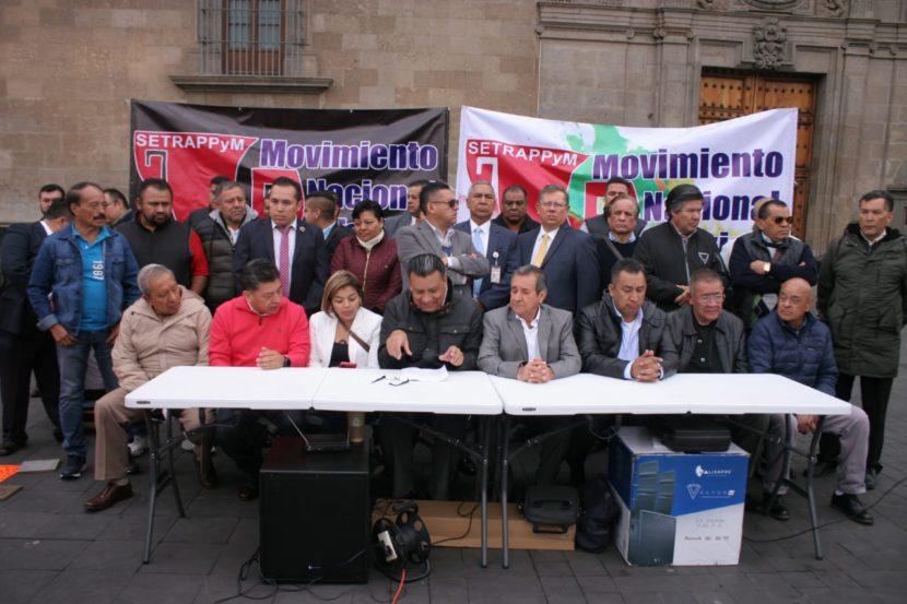 FRACASA DIÁLOGO ENTRE SEGOB Y EL MOVIMIENTO NACIONAL TAXISTA