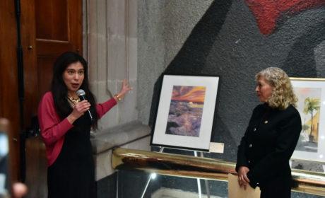 INAUGURA ELIZABETH MILLÁN EXPOSICIÓN EL COLOR DE SUEÑOS