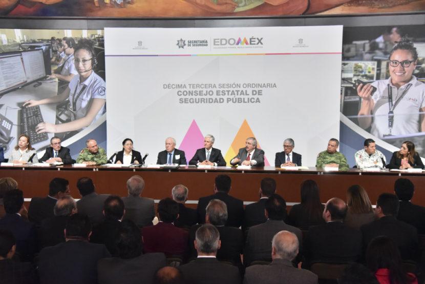 ACUDEN LEGISLADORAS A SESIÓN ORDINARIA DEL CONSEJO ESTATAL DE SEGURIDAD PÚBLICA