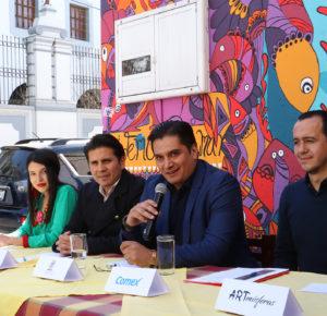 MAS DE 400 METROS CUADRADOS DE MUROS DE TOLUCA, TRANSFORMADOS