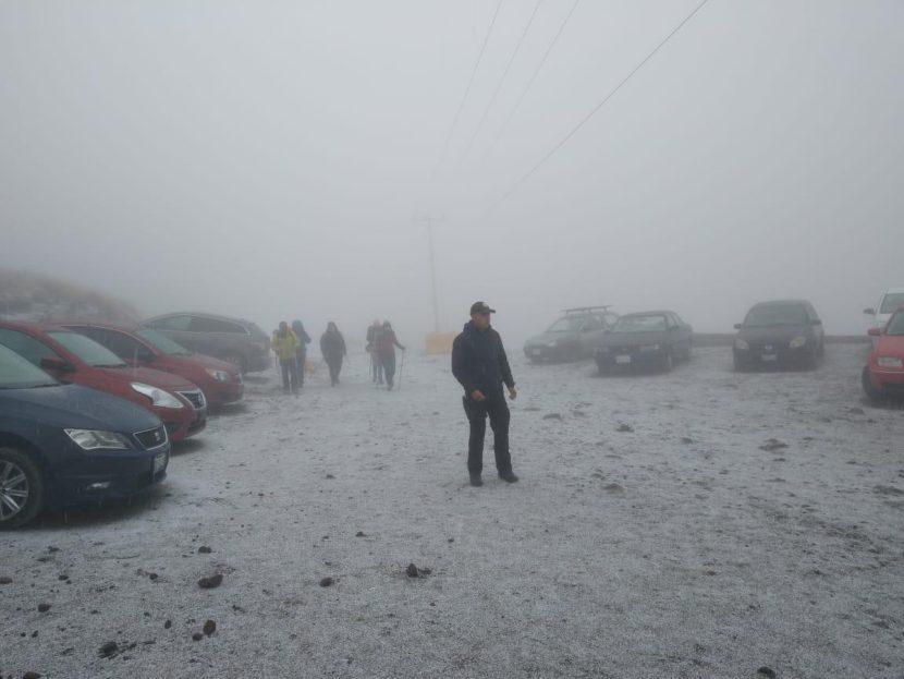 PRONÓSTICO DE CLIMA ADVERSO EN EL VOLCÁN XINANTÉCATL