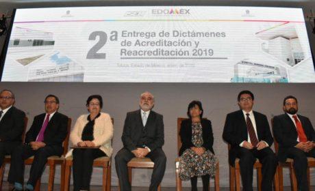 ES EDOMÉX LÍDER NACIONAL EN ACREDITACIÓN Y REACREDITACIÓN DE UNIDADES MÉDICAS
