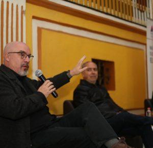 """IMPARTEN CARLOS PUIG Y SALVADOR CAMARENA CHARLA """"ESPACIOS PÚBLICOS EN LA RED"""""""