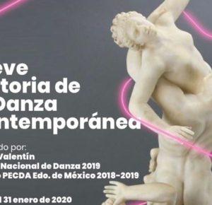 OFRECE SERGIO VALENTÍN TALLER DE DANZA CONTEMPORÁNEA EN TOLUCA
