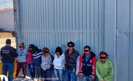FUERTE GOLPE A LA DELINCUENCIA POR POLICÍAS MUNICIPALES DE TECÁMAC