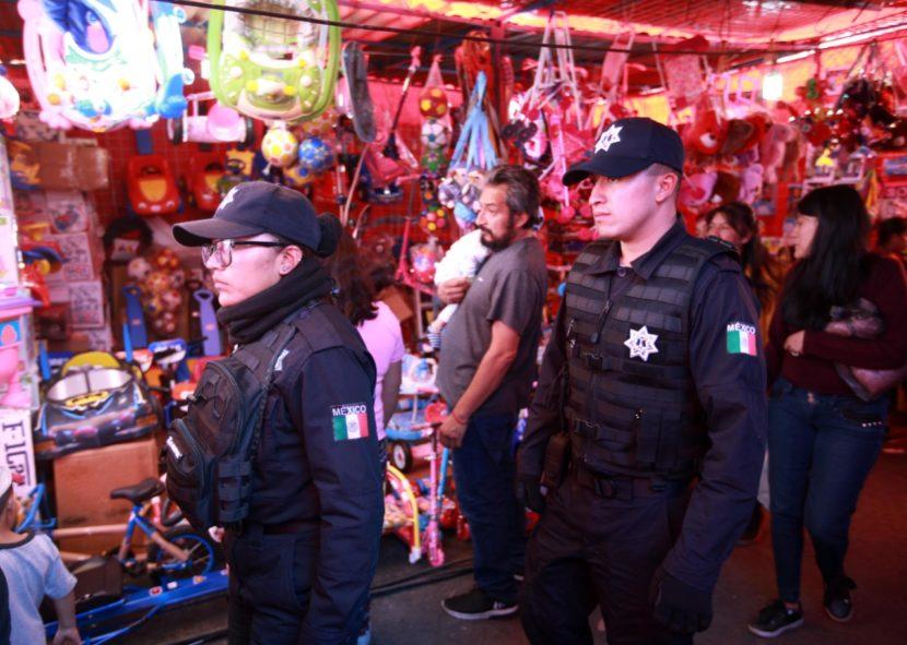 REFUERZAN SEGURIDAD CON OPERATIVO DE REYES MAGOS