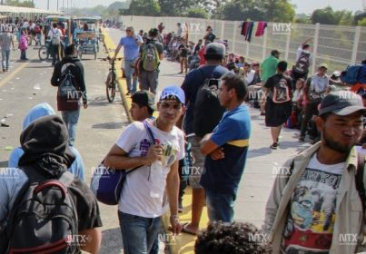 MÉXICO APLICARÁ LEYES EN FRONTERA SUR: SEGOB